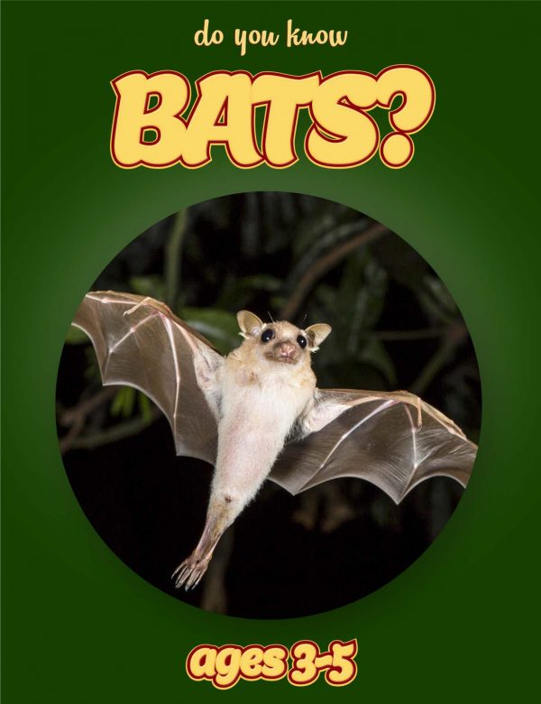 Bat Facts for Kids - Nonfiction Ages 3-5