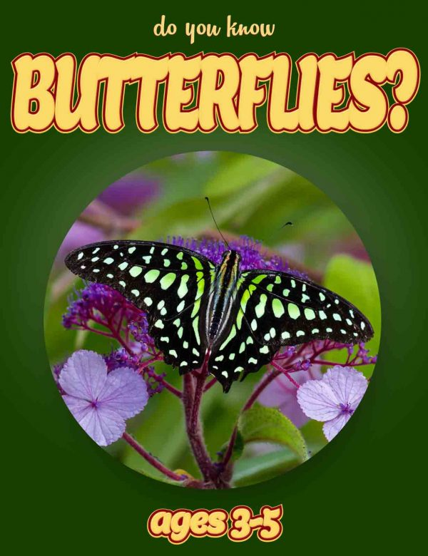 Butterfly Facts for Kids - Nonfiction Ages 3-5