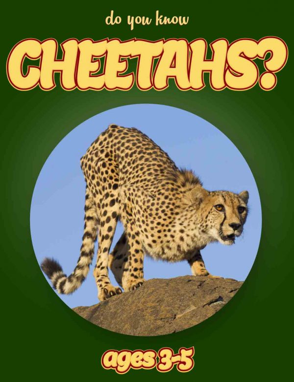 Cheetah Facts for Kids - Nonfiction Ages 3-5