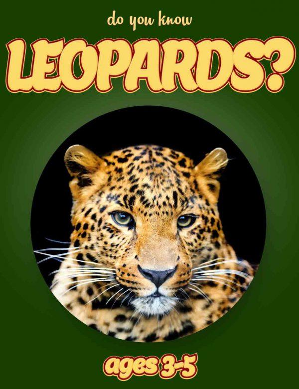 Leopard Facts for Kids - Nonfiction Ages 3-5