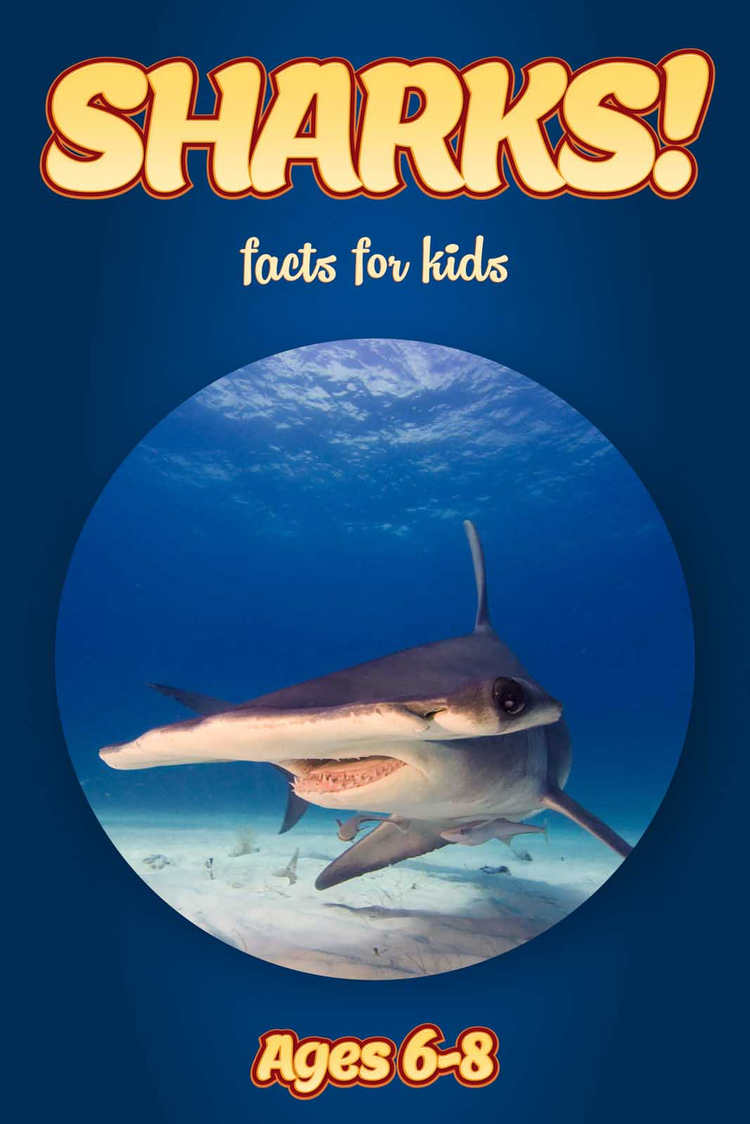 Shark Facts for Kids | Kids Nonfiction Book | Clouducated | Ages 6-8